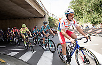 eventual race winner Niccolò Bonifazio (ITA/TotalEnergies) along the way<br /> <br /> 55th Grote Prijs Jef Scherens - Rondom Leuven 2021 (BEL)<br /> <br /> One day race from Leuven to Leuven (190km)<br /> ridden over the final circuit of the 2021 World Championships road races <br /> <br /> ©kramon