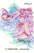 Marie, REALISTIC ANIMALS, REALISTISCHE TIERE, ANIMALES REALISTICOS, paintings+++++ButterflyLush,USJO17,#A# ,Joan Marie , butterfly