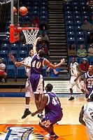 SAN ANTONIO, TX - MARCH 3, 2006: The Northwestern State University Demons vs. The University of Texas at San Antonio Roadrunners Men's Basketball at the UTSA Convocation Center. (Photo by Jeff Huehn)