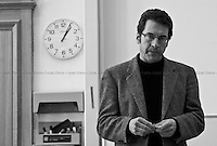 """George Monbiot, Journalist and activist - 2010<br /> <br /> London, 05/12/2010. George Monbiot  (Activist and journalist), Jelena Timotijevic (from Defend the Right to Protest), Laurie Penny (Journalist, blogger and author) amongst others talk at the LSE """"Tech-in""""."""