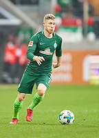 Florian KAINZ, BRE 7 <br /> FC AUGSBURG -  SV WERDER BREMEN  1-3<br /> Football 1. Bundesliga , Augsburg,17.03.2018, 27. match day,  2017/2018, 1.Liga, 1.Bundesliga, <br />  *** Local Caption *** © pixathlon<br /> Contact: +49-40-22 63 02 60 , info@pixathlon.de
