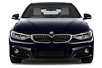 Car photography straight front view of a 2015 BMW SERIES 4 M Sport 2WD AT 5 Door Hatchback 2WD Front View