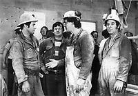 1980 FILE PHOTO - ARCHIVES -<br /> <br /> Mine BALMORAL, Val d'or, mai 1980, 8 mineurs sont prisonniers sous terre.<br /> <br /> Mining accidents<br /> Val d'Or (Quebec)<br /> <br /> PHOTO :  Jeff Goode - Toronto Star Archives - AQP