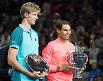 September  10, 2017:  Rafael Nadal (ESP) defeated Kevin Anderson (RSA)  6-3, 6-3, 6-4, in the final at the US Open being played at Billy Jean King National Tennis Center in Flushing, Queens, New York. Leslie Billman