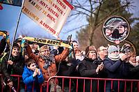 Toon Aerts (BEL/Telenet Baloise Lions) fans, <br /> <br /> Elite Men's Race <br /> Belgian National CX Championships<br /> Antwerp 2020