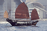 A junk is an ancient Chinese sailing vessel/ship design still in use today. Junks were developed during the Song Dynasty (960-1279)[1] and were used as seagoing vessels as early as the 2nd century CE. They evolved in the later dynasties, and were used throughout Asia for extensive ocean voyages. They were found, and in lesser numbers are still found, throughout South-East Asia and India, but primarily in China, perhaps most famously in Hong Kong. Found more broadly today is a growing number of modern recreational junk-rigged sailboats.<br />