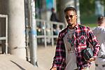 15.09.2020, Trainingsgelaende am wohninvest WESERSTADION - Platz 12, Bremen, GER, 1.FBL, Werder Bremen Training<br /> <br /> Spieler kommen am Dienstag morgen n Zivil zum Training<br /> <br /> Theodor Gebre Selassie (Werder Bremen #23)<br /> <br /> Foto © nordphoto / Kokenge