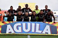 MONTERÍA - COLOMBIA, 23-02-2019: Los jugadores de Cúcuta Deportivo posan para una foto, antes de partido entre Jaguares F. C. y Cúcuta Deportivo de la fecha 6 por la Liga Águila I 2019, en el estadio Jaraguay de Montería de la ciudad de Montería. / The players of Cucuta Deportivo  pose for a photo, prior a match between Jaguares F. C., and Cucuta Deportivo, of the 6th date for the Leguaje Aguila I 2019 at Jaraguay de Montería Stadium in Monteria city. Photo: VizzorImage / Andrés López  / Cont.