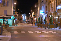 main street tain l hermitage rhone france