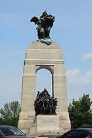 Ottawa (ON) CANADA - June 17 2012 - Canada's capital Ottawa-  War Monument