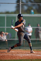 Dominic Hellman (8) during the WWBA World Championship at Lee County Player Development Complex on October 9, 2020 in Fort Myers, Florida.  Dominic Hellman, a resident of Mill Creek, Washington who attends Henry M. Jackson High School, is committed to Oregon.  (Mike Janes/Four Seam Images)