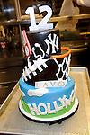 "A custom birthday cake for Christian Combs 12th birthday, son of Sean ""P Diddy"" Combs"" at Lavo restaurant, Las Vegas, NV, April 1,  2010 © Al Powers / RETNA ltd"