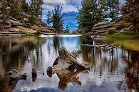 Gem Lake in Rocky Mountain National Park, Colorado