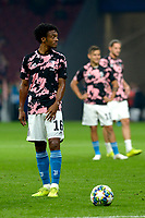 MADRID-ESPAÑA, 18-09-2019: Juan Guillermo Cuadrado de Juventus durante partido de la fase de grupos por la Liga de Campeones de la UEFA, entre Atlético de Madrid y Juventus en el estadio Wanda Metropolitano de la ciudad de Madrid, España. / Juan Guillermo Cuadrado of Juventus during a match between Atletico de Madrid and Juventus of the group stage match for the UEFA Champions League in the Wanda Metropolitano stadium in Madrid, Spain Photo: ChakanaNews / Patricio Realpe / VizzorImage.