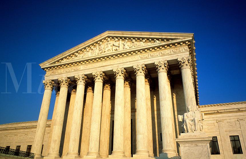 Supreme Court building, United States, Washington DC, USA