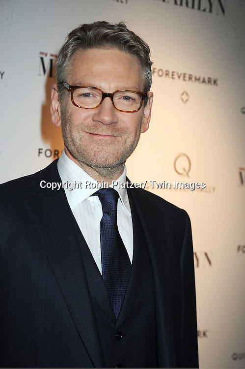 """Kenneth Branagh attends The New York Premiere of """"My Week With Marilyn"""" on November 13, 2011 at the Paris Theatre in New York City. The movie stars Michelle Williams, Kenneth Branagh, Dominic Cooper and Zoe Wanamaker."""