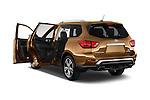 Car images of 2018 Nissan Pathfinder Platinum 5 Door SUV Doors