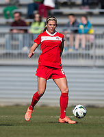 Stephanie Ochs. The Washington Spirit defeated the North Carolina Tar Heels in a preseason exhibition, 2-0, at the Maryland SoccerPlex in Boyds, MD.