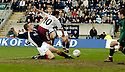 25/03/2006         Copyright Pic: James Stewart.File Name : sct_jspa03_falkirk_v_hearts.PAUL HARTLEY SCORES HEARTS FIRST....Payments to :.James Stewart Photo Agency 19 Carronlea Drive, Falkirk. FK2 8DN      Vat Reg No. 607 6932 25.Office     : +44 (0)1324 570906     .Mobile   : +44 (0)7721 416997.Fax         : +44 (0)1324 570906.E-mail  :  jim@jspa.co.uk.If you require further information then contact Jim Stewart on any of the numbers above.........