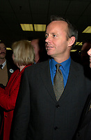 November 2000 File Photo<br /> The leader of the Canadian Reform Alliance Political Party (CRAPP) Stockwell Day speaks at a campaign rally November 20, 2000 in Montreal, Canada.