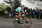 Jefferson Alveiro Cepeda (ECU) Caja Rural-Seguros RGA during Stage 2 of the Itzulia Basque Country 2021, running 154.8km from Zalla to Sestao, Spain. 6th April 2021.  <br /> Picture: Luis Angel Gomez/Photogomezsport   Cyclefile<br /> <br /> All photos usage must carry mandatory copyright credit (© Cyclefile   Luis Angel Gomez/Photogomezsport)