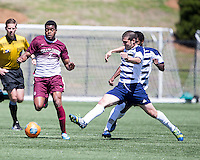 The College of Charleston Cougars played the  Georgia Southern Eagles in The Manchester Cup on April 5, 2014.  The Cougars won 2-0.  Adan Noel (7), Dustin Gamradt (10)