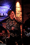 Sam Huber  with Tomas Doncker & The Hawk Garrison Hawk at The Bitter End Club NYC