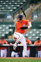 Baltimore Orioles first baseman Preston Palmeiro (6) during an Instructional League game against the Tampa Bay Rays on September 19, 2016 at Ed Smith Stadium in Sarasota, Florida.  (Mike Janes/Four Seam Images)
