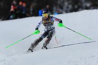 20th February 2021; Cortina d'Ampezzo, Italy; FIS Alpine World Ski Championships, Women's Slalom;   Andreja Slokar (SLO)