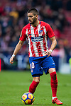 Yannick Ferreira Carrasco of Atletico de Madrid (R) in action during the La Liga 2017-18 match between Atletico de Madrid and Girona FC at Wanda Metropolitano on 20 January 2018 in Madrid, Spain. Photo by Diego Gonzalez / Power Sport Images