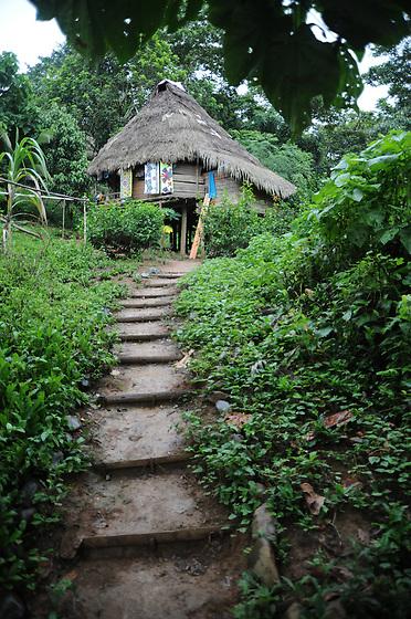 Indígenas emberá / comunidad indígena emberá, Panamá.<br /> <br /> Edición de 3 | Víctor Santamaría.