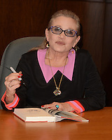 Carrie Fisher Book Signing Princess Diarist