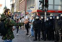 GERMANY, Hamburg, Schanzenviertel, protests against G-20 summit in july 2017 / DEUTSCHLAND, Hamburg, Schanzenviertel, Proteste gegen G20 Gipfel in Hamburg