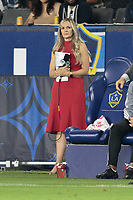 CARSON, CA - SEPTEMBER 15: Katie Witham of FOX during a game between Sporting Kansas City and Los Angeles Galaxy at Dignity Health Sports Complex on September 15, 2019 in Carson, California.