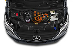 Car Stock 2021 Mercedes Benz Vito-Tourer - 5 Door Passenger Van Engine  high angle detail view