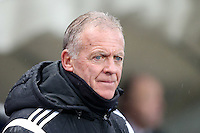 Swansea City Caretaker Manager Alan Curtis during the Barclays Premier League Match between Manchester City and Swansea City played at the Etihad Stadium, Manchester on 12th December 2015