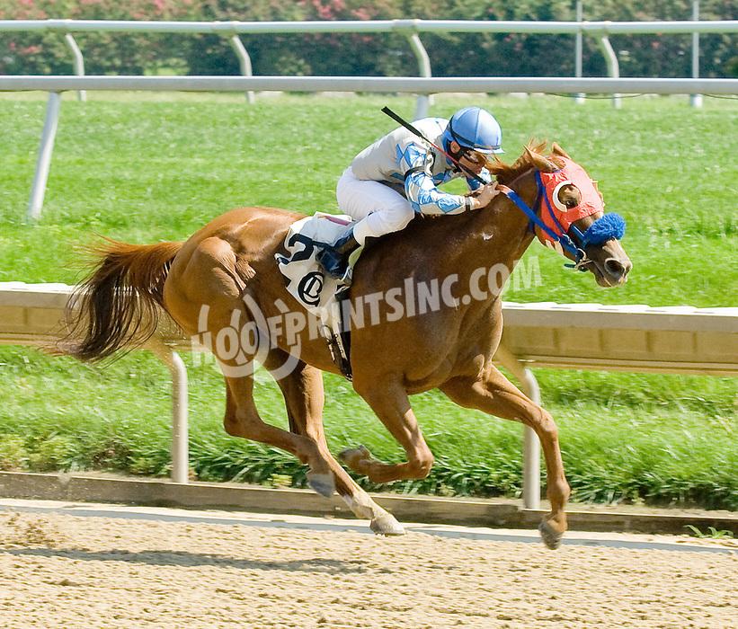 Art's Girl winning at Delaware Park on 9/13/11