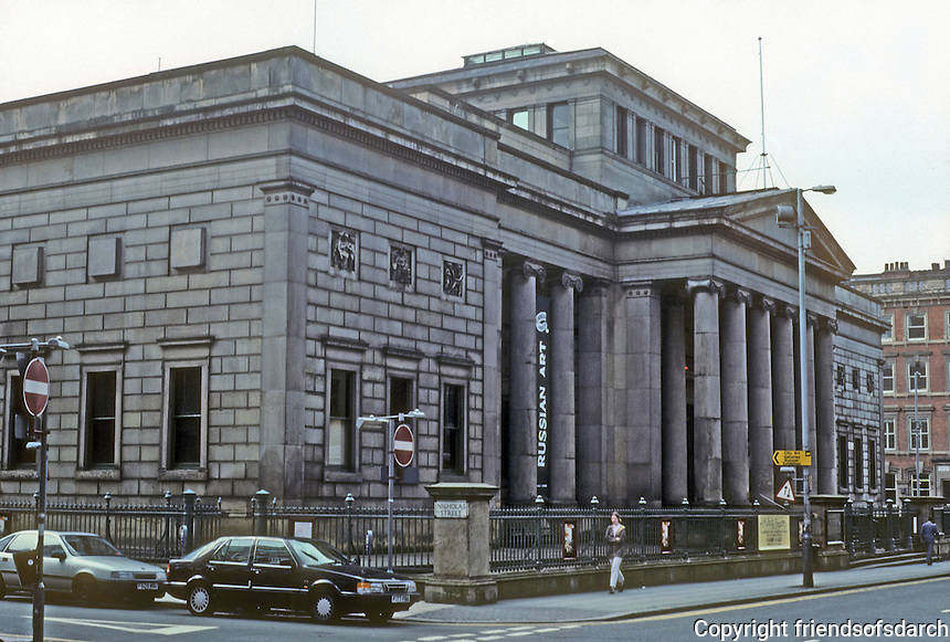 Manchester: City Art Museum, Architect Charles Barry.  Photo '90.