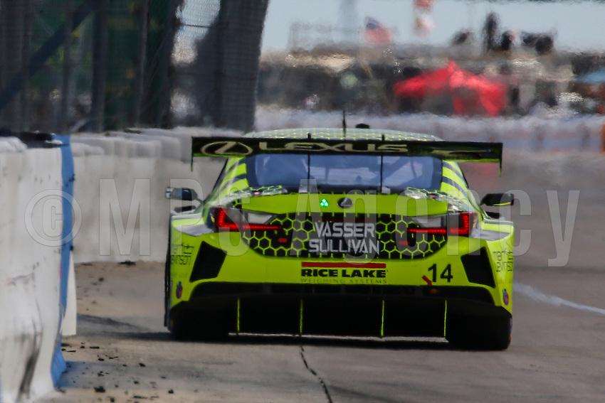 #14 VASSER SULLIVAN RACING(USA) LEXUS RC F GT3 GTD- AARON TELITZ (USA) KYLE KIRKWOOD (USA) JACK HAWKSWORTH (GBR)