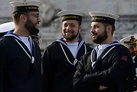 Roma, 2 Giugno 2017<br /> Giovani militari della Marina Militare<br /> 71°anniversario Festa della Repubblica