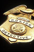 Philadelphia Detective Badge