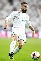 Real Madrid's Daniel Carvajal during Supercup of Spain 2nd match. August 16,2017.  *** Local Caption *** © pixathlon +++ tel. +49 - (040) - 22 63 02 60 - mail: info@pixathlon.de