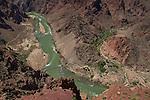 View from South Kaibab Trail of Phantom Ranch in Grand Canyon National Park; Arizona; .  John offers private photo tours in Grand Canyon National Park and throughout Arizona, Utah and Colorado. Year-round. . John offers private photo tours in Grand Canyon National Park and throughout Arizona, Utah and Colorado. Year-round.