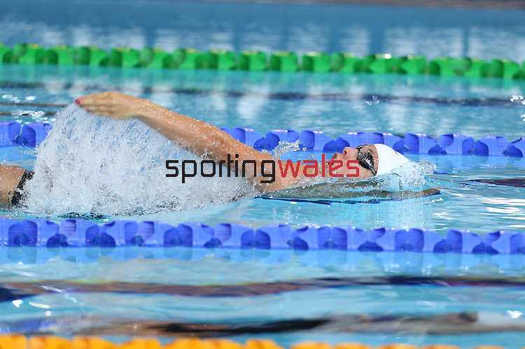 Glasgow 2014 Commonwealth Games<br /> Women's 200m Backstroke heats<br /> Rachel Williams (Wales)<br /> Tollcross Swimming Centre<br /> 27.07.14<br /> ©Steve Pope-SPORTINGWALES