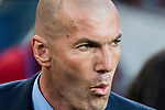 Manager Zinedine Zidane of Real Madrid looks on prior to the La Liga 2017-18 match between FC Barcelona and Real Madrid at Camp Nou on May 06 2018 in Barcelona, Spain. Photo by Vicens Gimenez / Power Sport Images