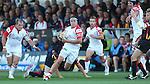 Ulster hooker Rob Herring.<br /> RaboDirect Pro 12<br /> Newport Gwent Dragons v Ulster<br /> Rodney Parade<br /> 06.09.13<br /> <br /> ©Steve Pope-SPORTINGWALES