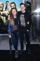 Christopher Mintz-Plasse + girlfriend @ the premiere of 'Keanu' held @ the Cinerama Dome theatre.<br /> April 27, 2016