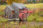 Gristmill in Guildhall, Vermont, USA