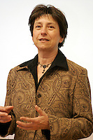 February 4th, 2006, Montreal (Qc) CANADA<br /> Francoise David, Quebec Solidaire<br /> <br /> Photo : Delphine Descamps / (c)  Images Distribution