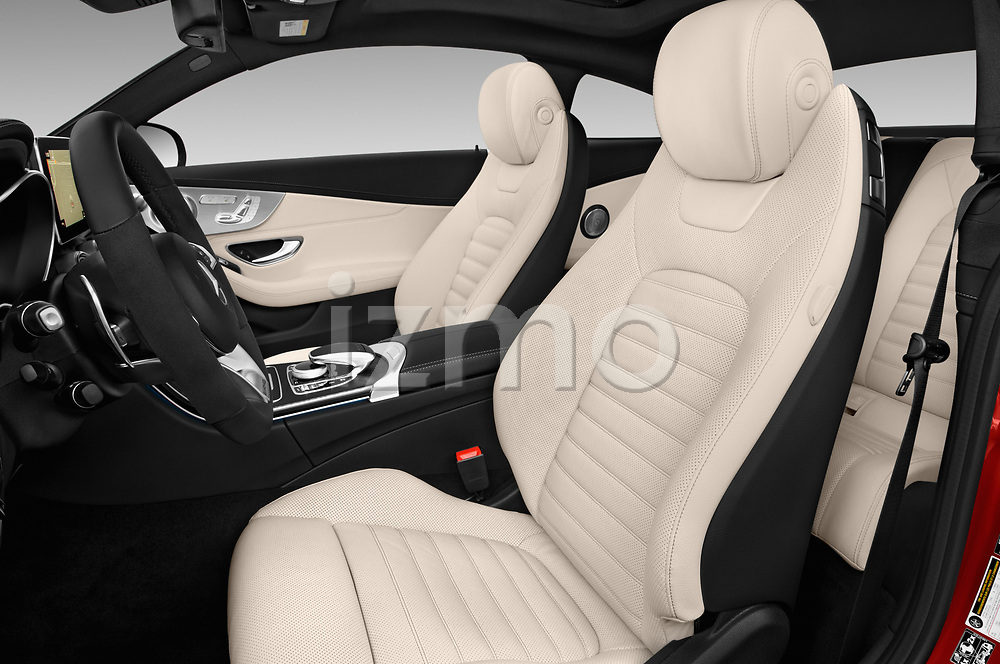 Front seat view of 2017 Mercedes Benz C-Class AMG-C43 2 Door Coupe Front Seat  car photos